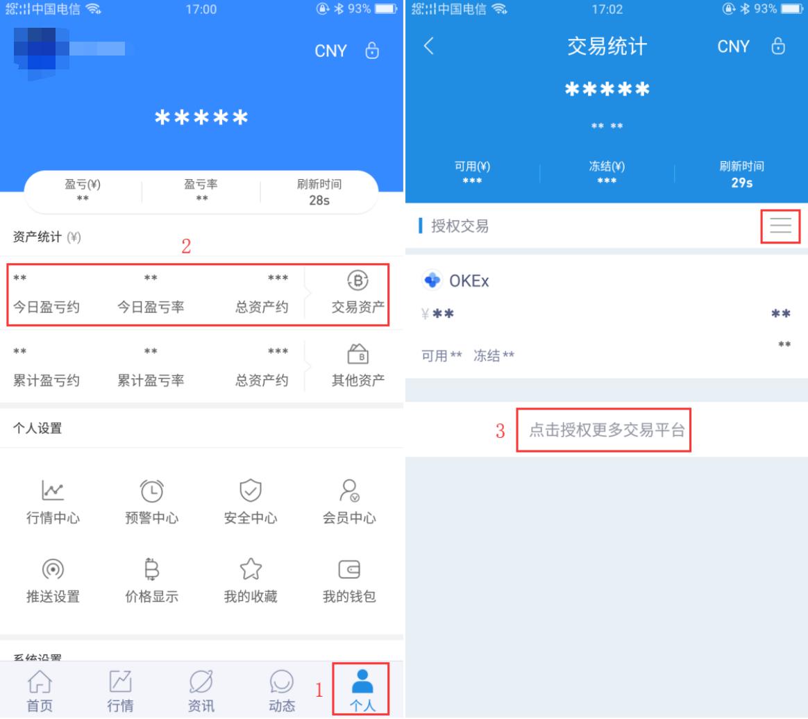 AICoin CoinEgg交易授权教程_aicoin_图1