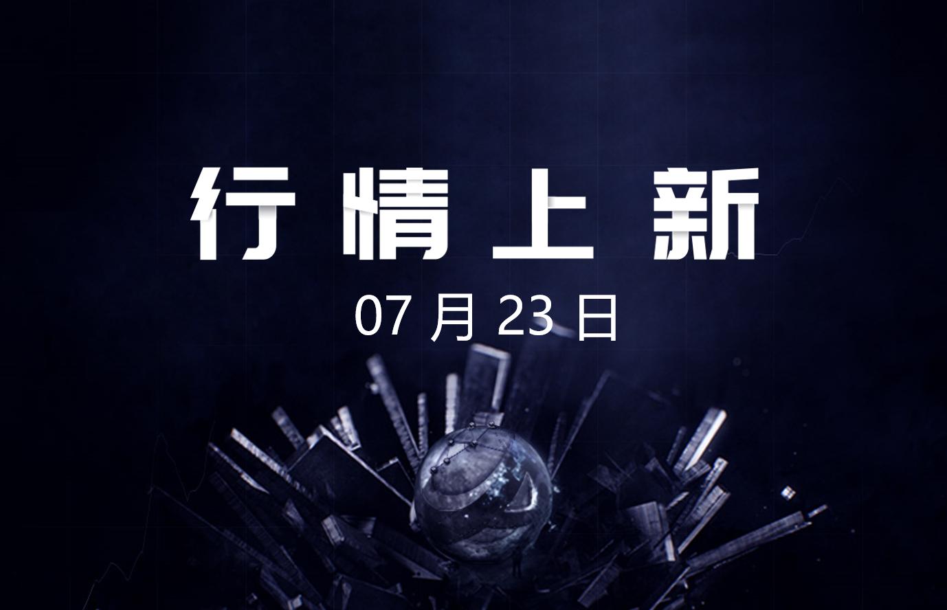 7月23日- AICoin 行情上新(新增49币种,涉及5平台)_aicoin_图1