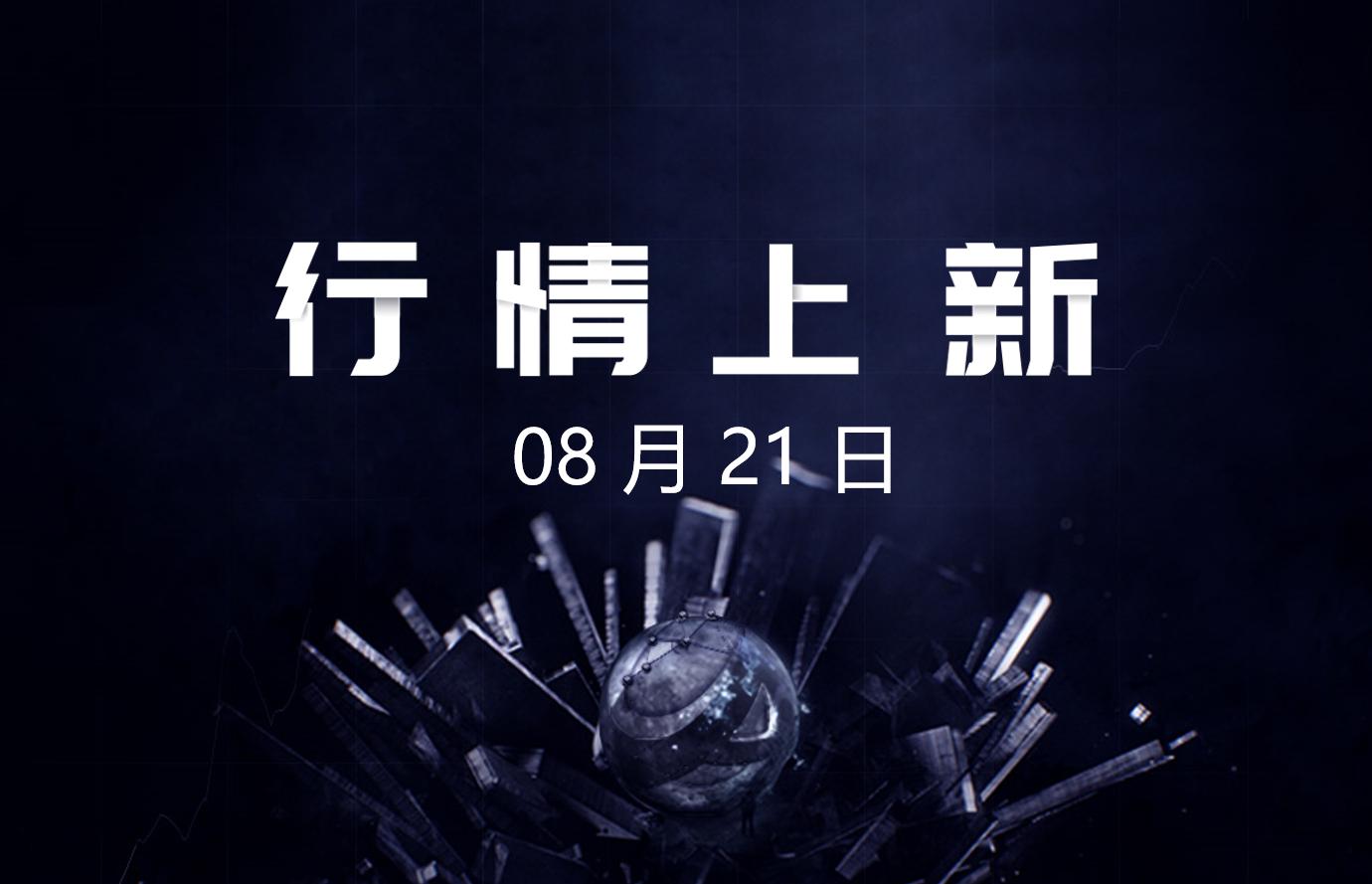 8月21日- AICoin 行情上新(新增7交易对,涉及3平台)_aicoin_图1