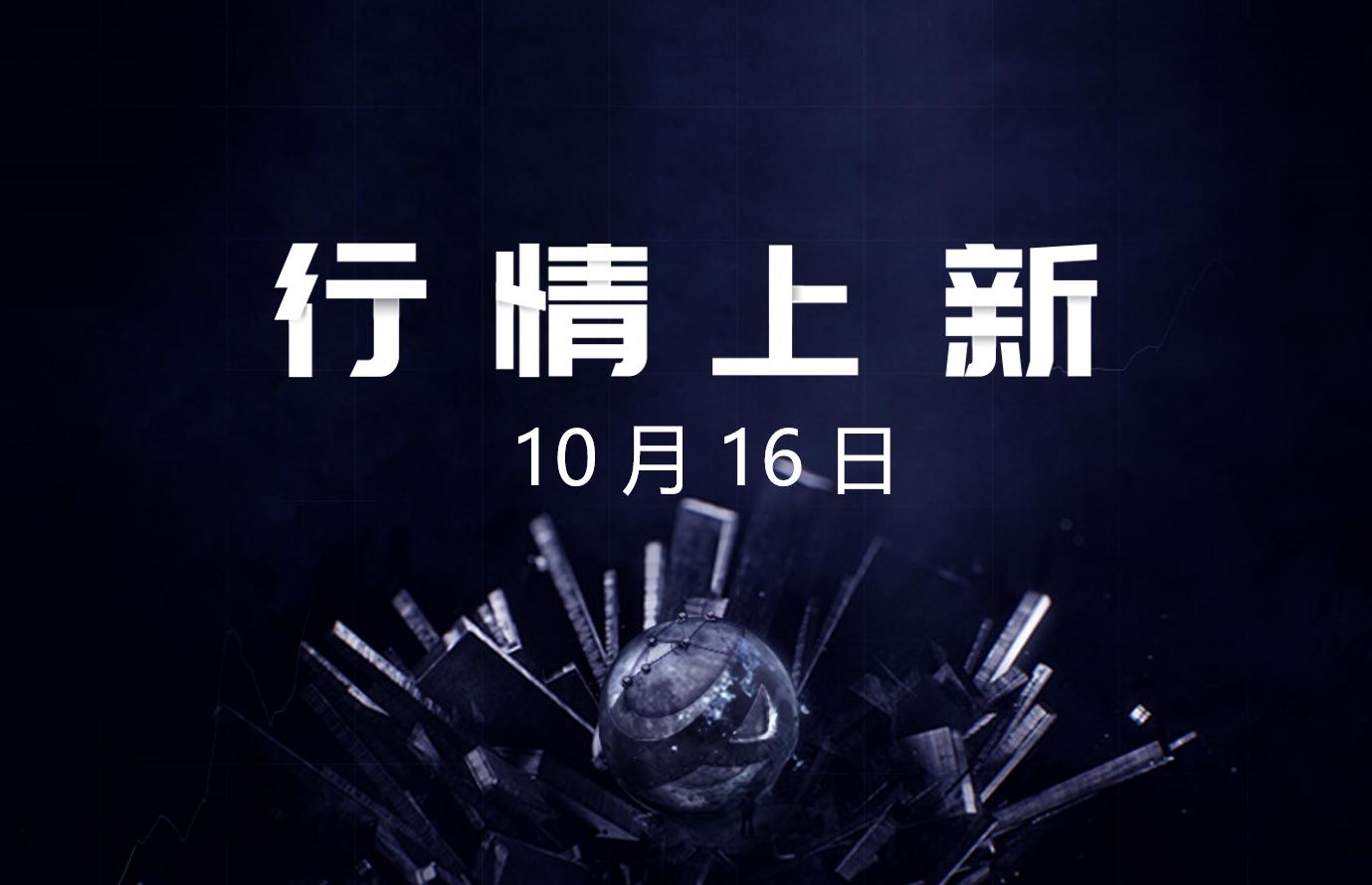 10月16日- AICoin 行情上新(新增43交易对,涉及8平台)_aicoin_图1