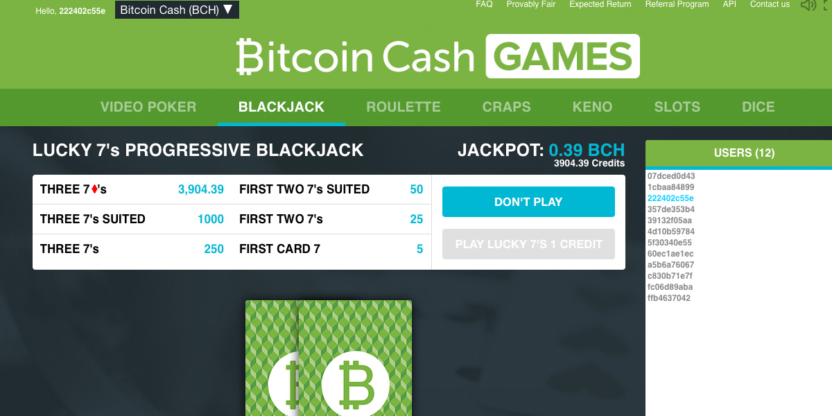 Bitcoin Cash Games Arrives — Play Your Favorites Faster With BCH